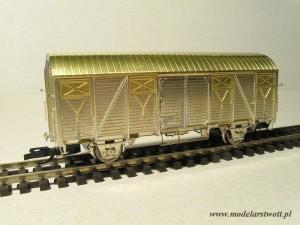 Zmontowany wagon 23K