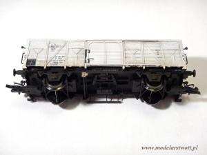 Widok podwozia gotowego modelu owocarki 6S