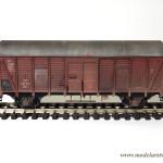 """Ukończony model wagonu """"Dresden"""""""