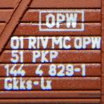 Oznaczenia wagonu 23K