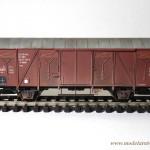 Ukończony model wagonu 14K