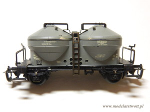 Wagon do przewozu cementu DR