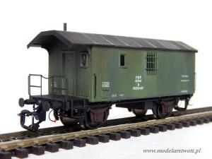 """Wagon mieszkalny """"Lubań"""" (krótki)"""